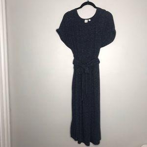 Gap Midi Length Jersey Dress Short Sleeve Large